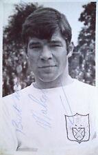 MALCOLM MACDONALD FULHAM FC 1968 SIGNED FOOTBALL PHOTO
