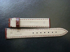 18mm Omega Brown Leather Band