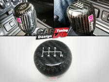 D1-SPEC CARBON FIBER Weighted GEAR SHIFTER STICK SHIFT KNOB  6 SPEED
