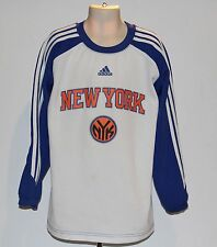NBA New York Knicks adidas Kids Small (8) Long Sleeve Shirt