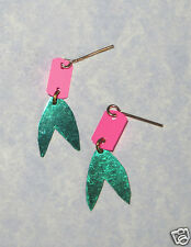 Doll Earrings Made for Liddle Kiddle SWINGY SKEDIDDLE Dolls