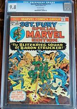 SPECIAL MARVEL EDITION #12 (Marvel 1973) CGC 9.8  NM/MT Sgt. Nick Fury