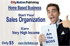 Sales Team, Home Based Business Opportunity (USA Only)