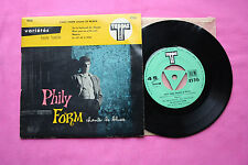 Ultra Rare EP 45T / Phily Form / Chante Le Blues / TEPPAZ / 4536 / EX