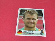 378.DANIEL JENSEN WERDER BREMEN UEFA PANINI FOOTBALL CHAMPIONS LEAGUE 2005/2006