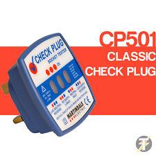 Martindale CP501 Control Clásico Enchufe 240V Tester De Enchufes