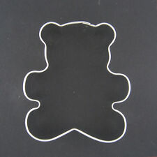 "TEDDY BEAR 3"" METAL COOKIE CUTTER BABY BIRTHDAY PARTY STENCIL FAVOR FONDANT NEW"
