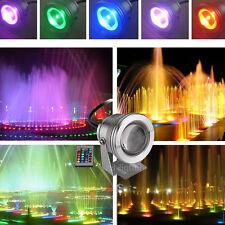 10 Pcs 10W Projecteur LED Etanche Spot RGB Lampe IP67 Extérieur Lumière DC 12V