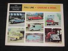 1965 Chevrolet Trucks Full Line Folder Sales Brochure