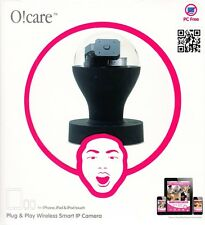 Ozaki O!Care Wireless Drahtlose IP Kamera Schwarz für iPad/iPhone/iPod Touch NEU