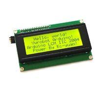 IIC/I2C/TWI/SPI Serial Interface 2004 20X4 Character LCD Module Display Yellow