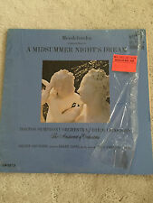 A Midsummer Nighs Dream Mendelssohn Boston Symphony LM 2573 Red Seal MONO RCA LP
