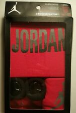 Boys or Girls 3 PIECE NIKE AIR JORDAN JUMPMAN INFANT SET 0-6 MONTHS