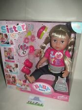 Baby Born Interactive Sister Doll Zapf Creation 820704 NEW