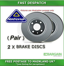 FRONT BRAKE DISCS FOR VW PHAETON 3.2 04/2002 - 06/2006 6336