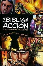 LA BIBLIA EN ACCION / THE BIBLE IN ACTION - NEW HARDCOVER BOOK