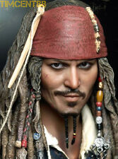 Hot Toys Pirates Caribbean DX06 Jack Sparrow 1/6 figure In Stock