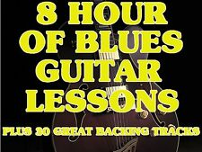 8 Hrs. of Blues Guitar Lessons on 1 DVD ROM Video +TRAX & Slide & SURPRISES!