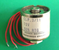 Benson CLP3 12V DC Linear Pull Cylindrical Tubular Solenoid