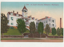Bellingham Washington St Josephs Hospital USA Vintage Postcard US030