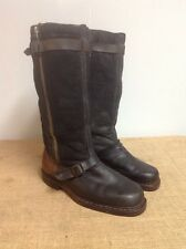 VIntage RARE WWII WW2 GERMAN LUFTWAFFE AIR PILOT UNIFORM LEATHER BOOTS 11