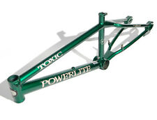 POWERLITE TOXIC freestyle frame 1999. Green. BMX mid old school. GT USA PacMan