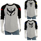 Pokemon Go Team Valor Team Mystic Team Instinct Pokeball Shirt Red Blue Yellow