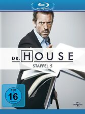 DR.HOUSE SEASON 5 Robert Sean Leonard, Omar Epps, Hugh Laurie 5 BLU-RAY NEU