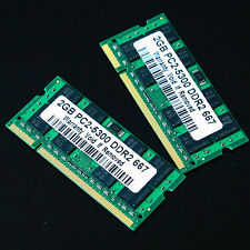 New 4GB 2X 2GB PC2-5300 2Rx8 DDR2 667 MHZ laptop 200PIN memory SO-DIMM 667MHz