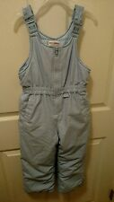 Gymboree Blue Snow Pants Bib Overall Ski Snowboard Size Large 4 to 5 Years