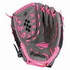 """New Franklin 22321 12"""" Fastpitch Softball Pro Series Ready To Play Glove Pink"""