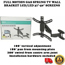 "Movimento COMPLETO GAS Sprung TV STAFFA MURO PER LCD / LED 37 "" - 50"" schermate"