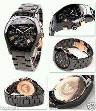 Emporio Armani AR1410 ceramica dial chronograph wrist watch for men