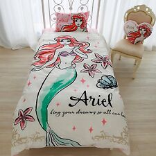 Disney Ariel futon cover/sheets/pillow case 3 set Little Marmaid f/s Japan