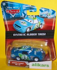 O- SPARE O MINT #93 Rubber Tires Mattel Disney Pixar Cars 1:55 Diecast Vehicle