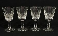 "Set of 4 WATERFORD CRYSTAL KENMARE 6 7/8"" Water Goblets Glasses"