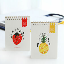 1PC A6 Cute Fruit Journal Memo Dream Notebook Paper Notepad Blank Pocket Diary