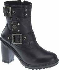 Harley-Davidson® Women's Ludwell 5.5-In Black Fashion Boots. 4-In Heels D83831 7