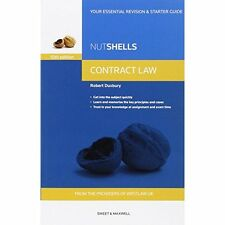Nutshells Contract Law - 10th Revised Ed Paperback Book 2015 by Robert Duxbury