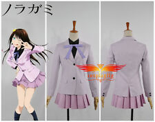 Noragami Iki Hiyori School Uniform Cosplay Costume Custom Made