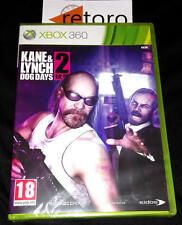 KANE & Y LYNCH 2 DOG DAYS Microsof XBOX 360 Nuevo Precintado NEW PAL Español