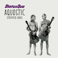 STATUS QUO AQUOSTIC (STRIPPED BARE) CD ALBUM (October 20th, 2014)