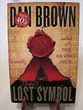 The Lost Symbol by Dan Brown Hard back w DC 1st Edition 1st printing VG cond