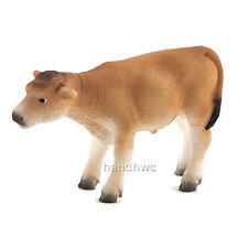 Mojo Fun 387147 Jersey Calf Standing - Toy Dairy Model Cow Replica - NIP