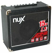 NUX MIGHTY 15 WATT GUITAR AMPLIFIER - 6 MODELLING AMP TYPES AND 6 EFFECTS - NU-X