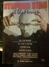 STEPHEN KING AT THE MOVIES By Jessie Horsting VG+  Harlan Ellison Essay
