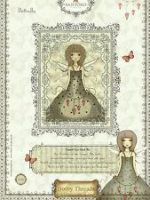 BOTHY THREADS MIRABELLE BUTTERFLY BY SANTORO COUNTED CROSS STITCH KIT  NEW 03/14