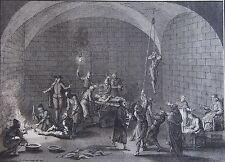 INQUISITION. La Salle de l'Inquisition. Diverses manièreS  St Office 1722