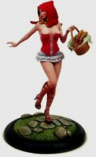 Kabuki models 21st siècle pin ups big sisters 54mm little red riding hood