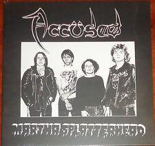 """Accused / The Accüsed - Martha Splatterhead 12"""" EP - New Splatter Vinyl (2014)"""